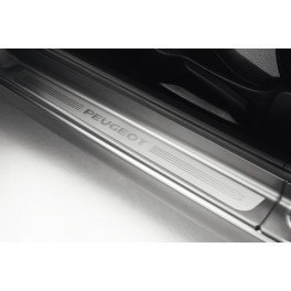 Juego de tapacubos para topes de puertas traseras y delanteras de Peugeot 207