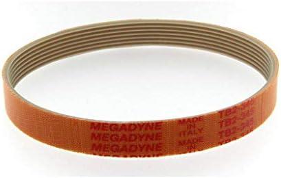 MEGADYNE TB2-345 7 - Correa de repuesto para cortacésped, color ...