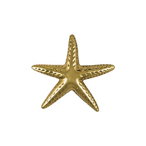 Starfish Door Knocker - Brass (Standard Size)