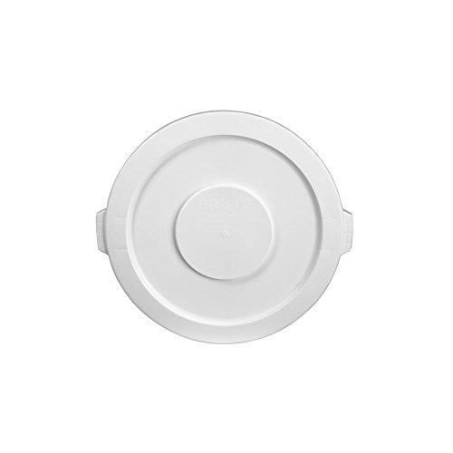 Flat Plastic Receptacle Lid (Rubbermaid 2631 WHI 22-1/4