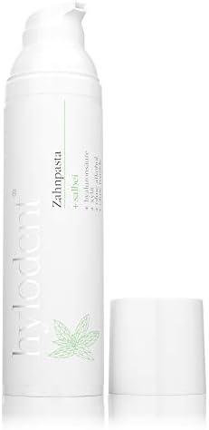 hylodent Bio Zahnpasta ohne Fluorid & Plastik I 100% natürliche Xylit Zahnpasta mit Hyaluronsäure I Zahncreme...