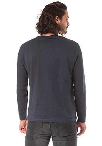Sleeve Crewneck Champion shirt pt T Long Homme Bleu Bs512 B Eqdwrdx1