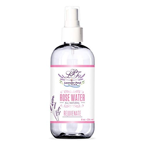 Lavender Pond Farm Rose Water made in New England