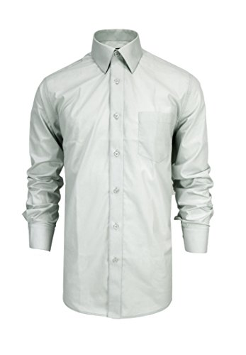 dress shirts to wear with grey suit - 2