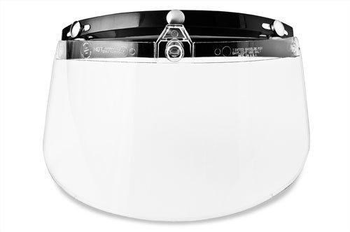 Raider 3 Snap Flip Shield for Raider Open Face Helmet (Clear)