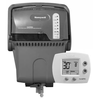 Honeywell TrueSTEAM Humidification System with HumidiPRO-Black and White - H6062A1000/U HM512-5