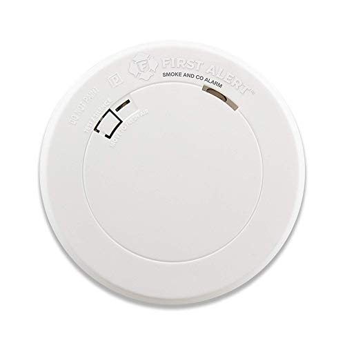 (First Alert Smoke Detector and Carbon Monoxide Detector Alarm with Built-In 10-Year Battery, BRK PRC710 (Renewed))