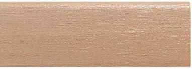 Tucci Wood Essence Battiscopa Moderno Tutto Legno in Tanganika Tinto Naturale 10x70 mm TWE