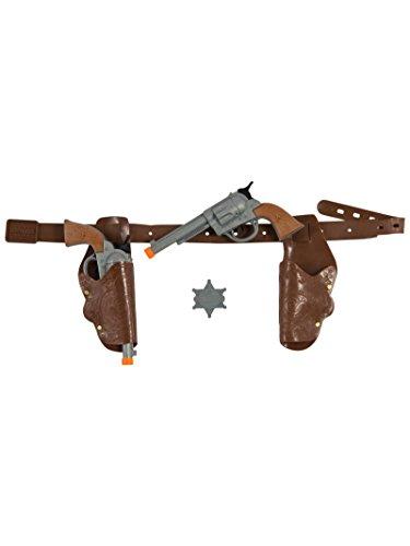 Rubie's RUB1353ACC Cowboy Pistol and Gun Holster Set ()