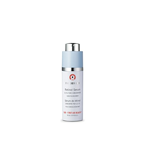- First Aid Beauty FAB Skin Lab Retinol Serum .25% Pure Concentrate