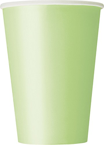 12oz Apple Green Paper Cups