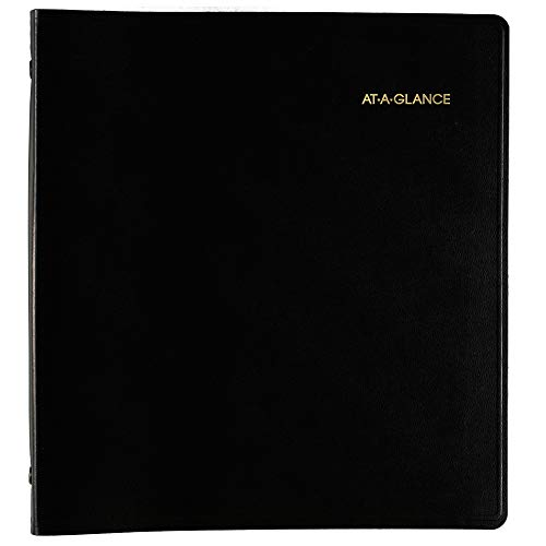 AT-A-GLANCE 2019-2023 Monthly Planner, 5 Year, 9'' x 11'', Large, Black (7029605) by At-A-Glance