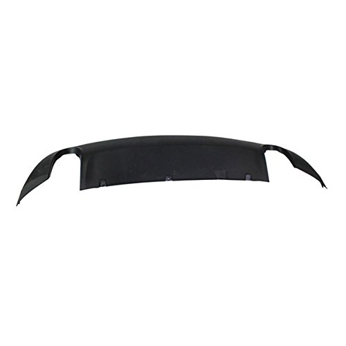 Koolzap For 09-11 A6 Rear Bumper Lower Spoiler Valance Air Dam Deflector Apron Garnish Panel