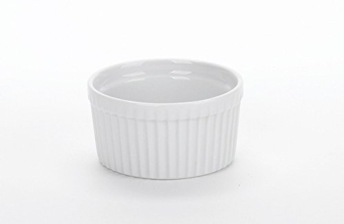 BIA Cordon Bleu 90009S12 - Set of 12-3.25'' 6 Ounce Porcelain Ramekins, White