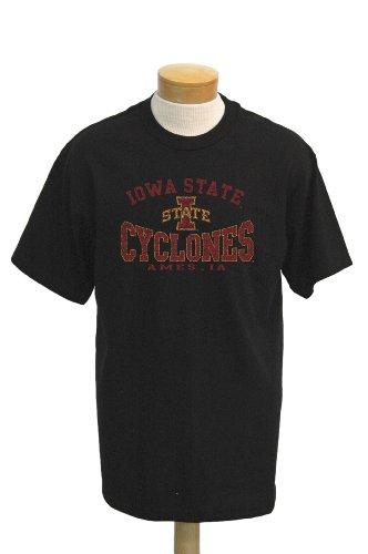 - NCAA Men's Iowa State Cyclones Saunders Short Sleeved T-Shirt (Black, X-Large)
