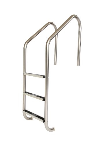 S.R. Smith VLLS-103S 3-Step Elite with Stainless Steel Steps Pool Ladder, Stainless Steel by S.R. Smith