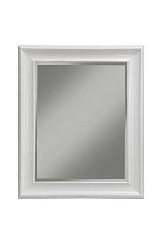 Sandberg Furniture 13017 White Wall Mirror White,36 X 30