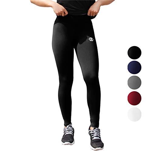 Dutte Dutta Black Leggings Sport Yoga Pants Womens Girls Match Halloween Costume Basic Outfit Size M