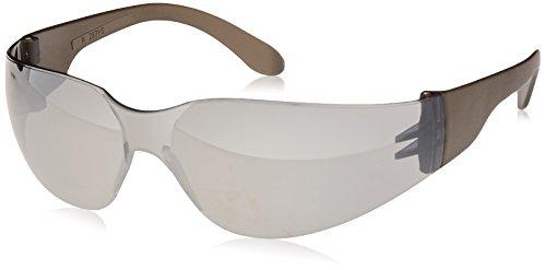 Radians Silver Mirror Safety Glasses, Scratch-Resistant, Wraparound