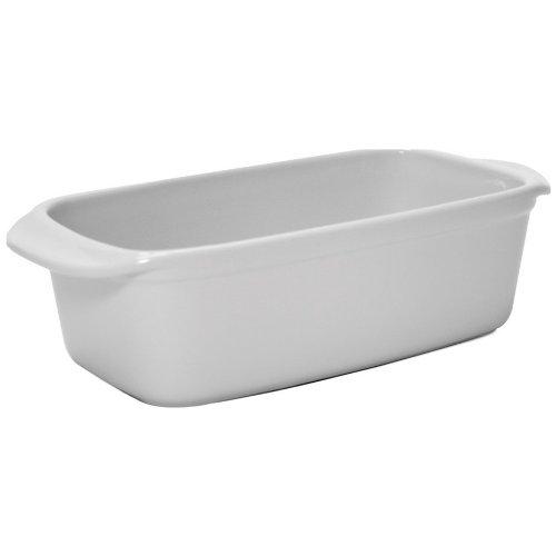 - Chantal 1.5 Quart Classic Loaf Pan, Glossy White
