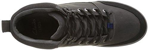 Clarks Ripway Top GTX, Stivaletti Uomo Grigio (Grey Leather)