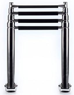 xingbailong Escalera telescópica plegable de acero inoxidable de 4 peldaños para barco: Amazon.es: Deportes y aire libre