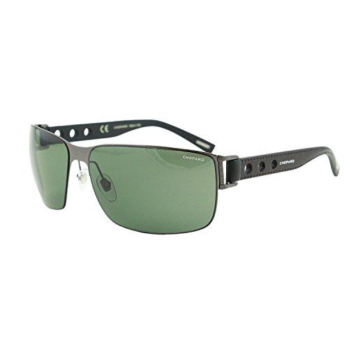 Chopard Mille Miglia SCH B31 K10P Men Black Racing Rectangular Polarized - Miglia Mille Sunglasses Chopard