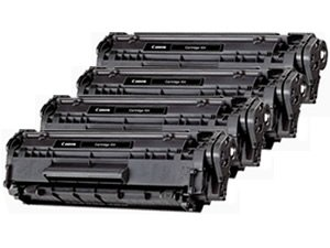 New Compatible 104 Black Laser Toner Cartridge for Canon Printers (4 Pack), Office Central