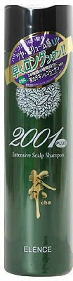 Elence 2001 Plus Green Tea Intensive Scalp Shampoo for Fast Hair Growth and Minimizes Hair Loss by Elence 2001