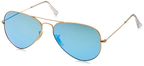 Ray-Ban Aviator Classic, Matte Gold, 58 - Optics Aviator Ray Ban