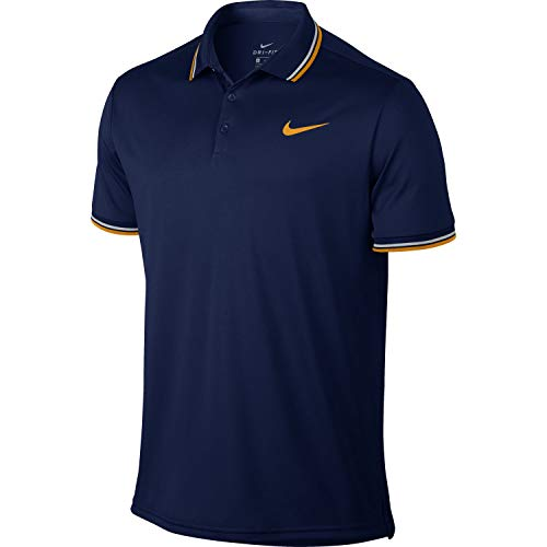 492 Solid Nkct orange Nike Homme Dry Bleu M Void blue Small Peel Pq Polo wHpqIn75q