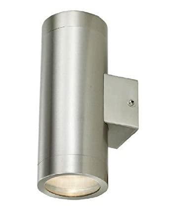 Stainless Steel Double Outdoor Wall Light IP65 Up / Down Outdoor Wall Light: Amazon.co.uk: Lighting