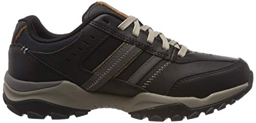 Uomo Collo Skechers A Henrick delwood Alto Nero black Blk Sneaker qwwgpA
