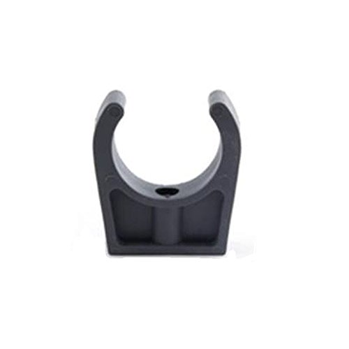 Maclow Snap Action Pipe Clip For Pipe with Outside Diameter of 26.9 mm Pack Size : 2 3//4 inch, 20 mm Nominal Bore
