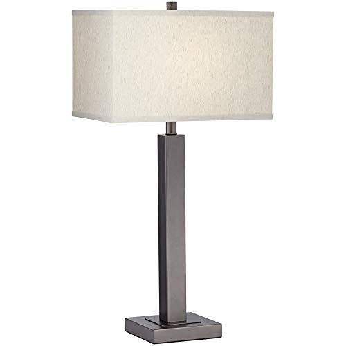 (Pacific Coast Lighting 66K24 Cooper Gun Metal 1-Light 150W Table Lamp)