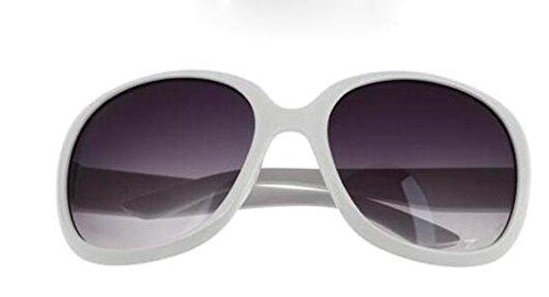 redonda mujeres sol cara Gafas gafas de de de gafas sol personalidad las cara gafas ultravioleta de de Gafas larga de grande D sol caja XLFF A protección de sol wqHpzXx