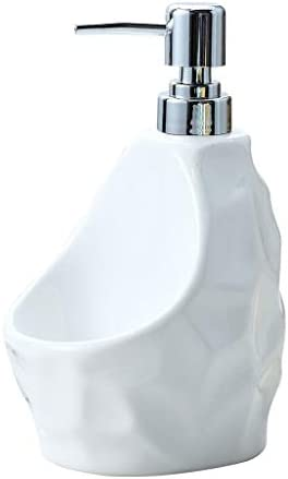 ソープ・シャンプー用ディスペンサー シンプルなクリエイティブ浴室用品セラミックローションボトルシャワージェルボトルハンドソープボトルソープディスペンサー 石鹸ディスペンサー (Color : Green)