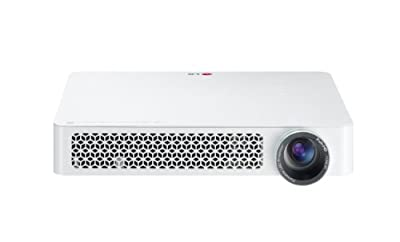 LG Electronics PF85U Full HD LED Projector with Smart TV and Built-In Digital TV Tuner (2014 Model)