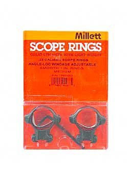 Tip Off Ring (Millett Smooth Steel Angle-Loc Windage Adjustable Ring, 1-Inch - Medium,)