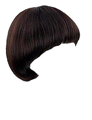 - Women's Short Full Bang Wig Mushroom Hairstyle Cosplay/daily Hair Wig