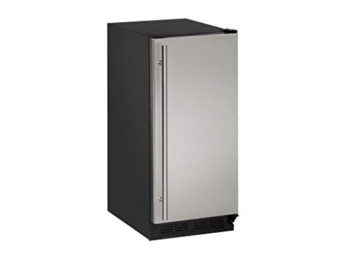 U-Line U1215RS00A Built-in/Freestanding Compact Refrigerator, 2.9 cu. ft, Stainless Steel