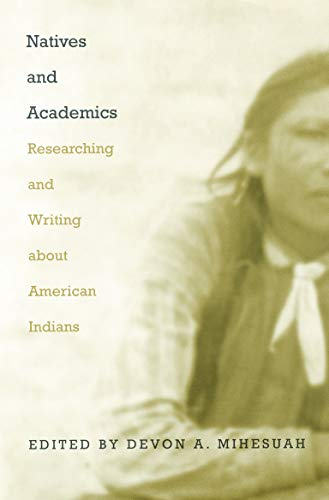 Natives and Academics: Researching and Writing about...