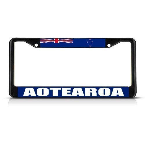 - YEX Abstract Aotearoa New Zealand Flag License Plate Frame Car License Plate Covers Auto Tag Holder 6