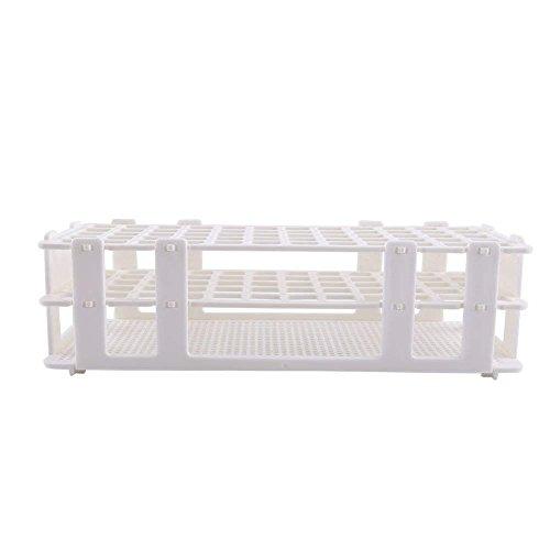 1pc Plastic Test Tube Rack 60 Holes Holder Storage Stand 3 L