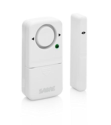 SABRE Dorm Apartment Security Alarm Kit - Includes Wedge Door Stop ...