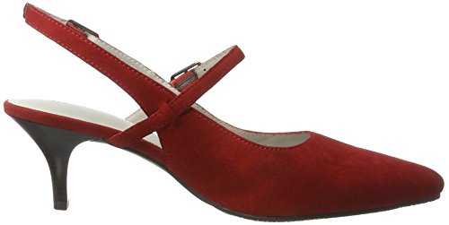 GERRY WEBER Linette 10, Scarpe Col Tacco Donna Rosso (Rot)
