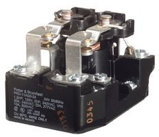 TE CONNECTIVITY/POTTER & BRUMFIELD PRD-11AG0-240 POWER RELAY, DPDT, 240VAC, 30A, PANEL