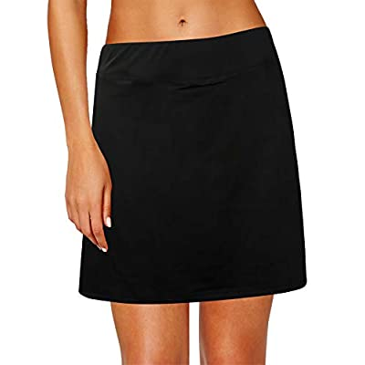 Oyamiki Women's Active Athletic Skort Lightweight Tennis Skirt Perfect for Running Training Sports Golf: Clothing