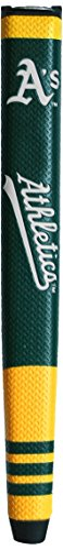 Team Golf MLB Oakland Athletics Golf Putter Grip with Removable Gel Top Ball Marker, Durable Wide Grip & Easy to Control