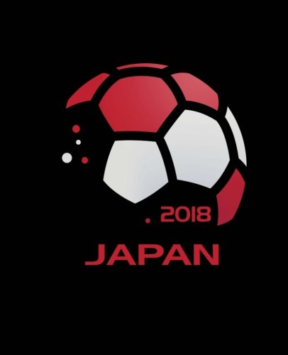 Japan Soccer Fan Journal: Blank Lined Composition Notebook 75 Sheets / 150 Pages 8.5 x 11 inch pdf epub